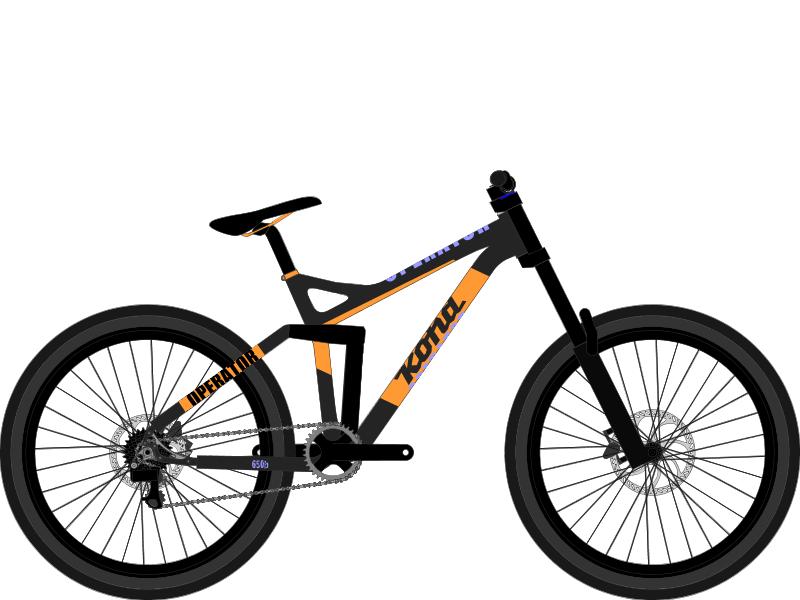 2016 Kona Bikes Kona Supreme Operator b